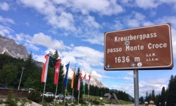 Today's trailhead, Kreuzbergpass 1636m