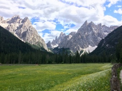 A view from Dolomitenhof (1454m)