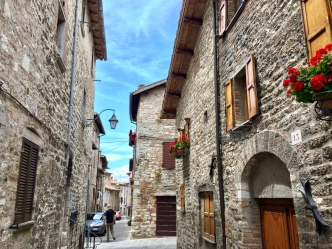 Perfect stone-wall houses