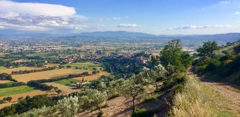 A view of Spoleto