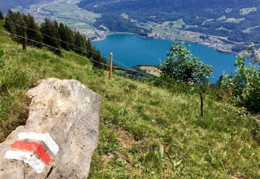 Walensee is 1000+m down!
