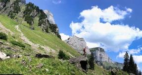 Soaring Churfirsten peaks