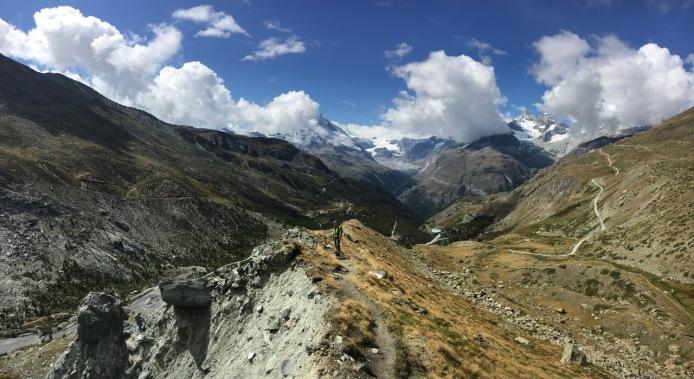 Matterhorn in the south-east