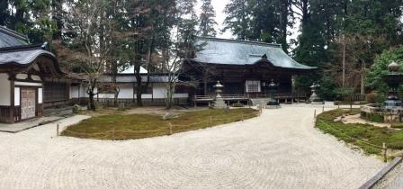 Peaceful temple in Hieizan