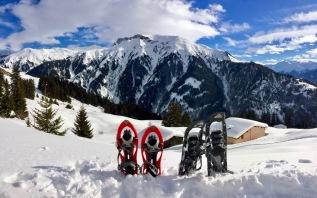 Picnic lunch in the snow in Bova