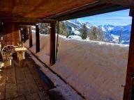 Snow on the veranda