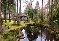 Sanzen-In's peaceful garden