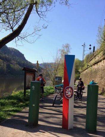 The German-Czech border