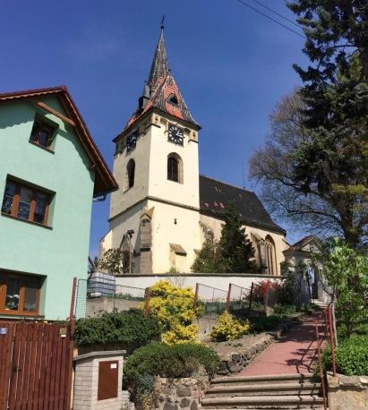 A church in Velke Zernoseky