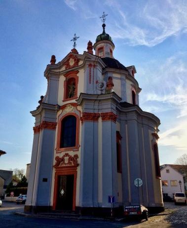 A colorful church