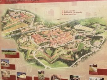 Terezin map