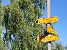Route 7. 53km to Praha