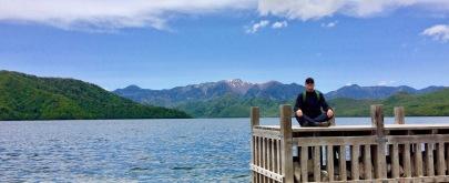 lake chuzenji zen bluff