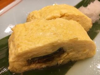 Tamagoyaki with eal
