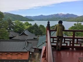 View over the lake chuzenji