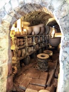 Kiln, raw firing