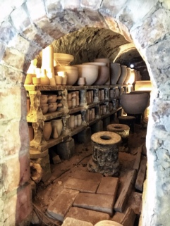 Kiln, raw firing