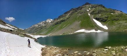 Lake Minor with snow
