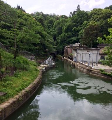 Water tunnel to Lake Biwa
