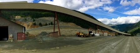 Humongous Western Mine site