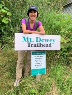 Mt. Dewey's trailhead