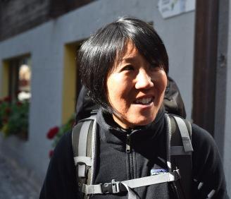 Yasuko in St Niklaus