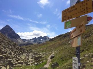 Fuorcla Crap Alv pass, 2466m