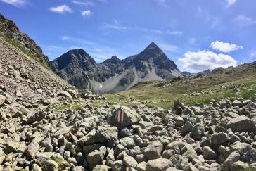 The stony path...