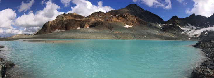 Incredible color of Glacier Lake