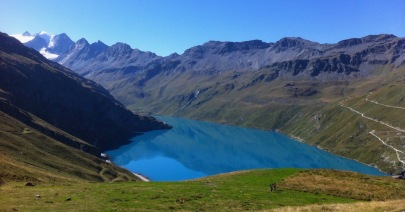 Amazing color of Lac de Moiry