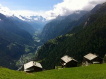 A view of Mattertal from Jungen