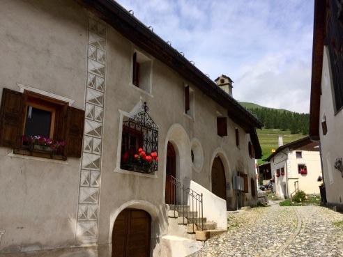 Madulain village