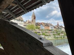 Wooden bridge, Bremgarten