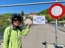 The German-Swiss border is closed due to the Corona crisis.