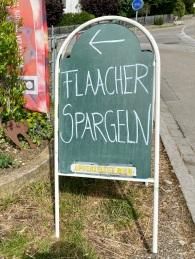 Flaach asparagus on sale!