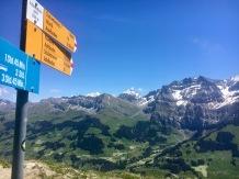 Today's highest point, Schwandfäldspitz 2026m