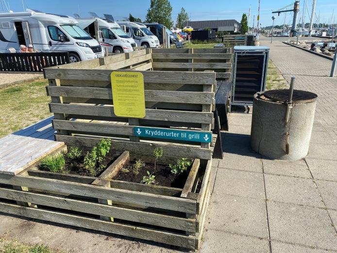 public herb garden