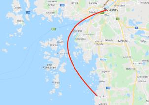 Kullavik - Gothenburg