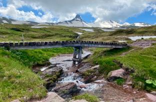Spectacular Spitzmeilen peak!