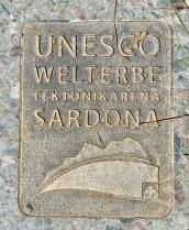 Signage of the Sardona Way