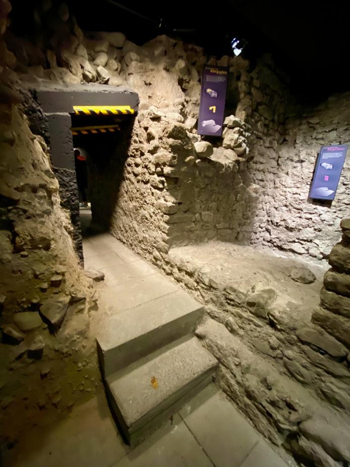 Underground historical site
