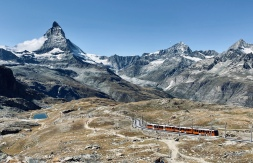 Cute Gornergrat train