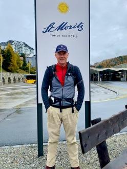 St. Moritz, today's starting point