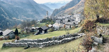 A fantastic view of Soglio